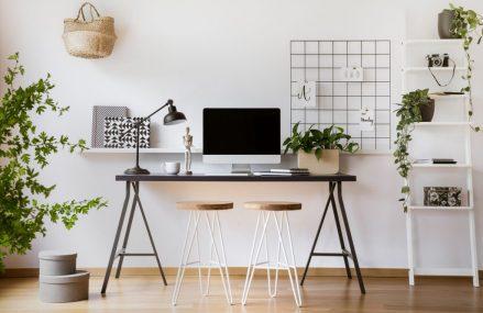 Amenajarea unui birou la domiciliu – 13 idei functionale pentru spatii mici