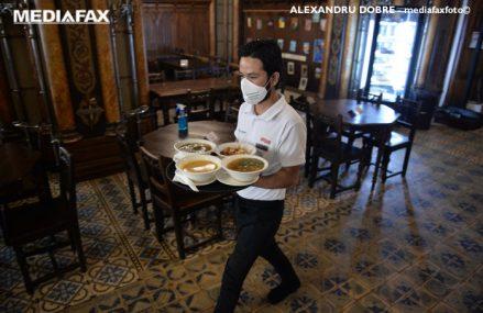 Noi măsuri urmează să intre în vigoare: Restaurantele pot funcţiona cu activitate permisă până la 50% din capacitatea maximă a spaţiului