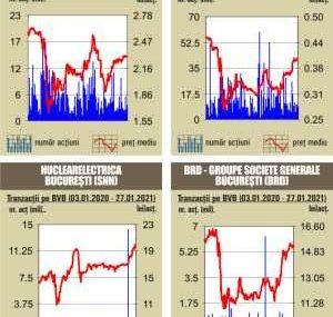 BVB Scaderi pentru indici, in ton cu declinul din pietele internationale