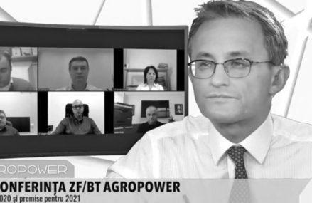 Videoconferinţa ZF BT Agropower 2021: Agricultura în 2020 şi premise pentru 2021. Semnal bun din agricultură: Fermierii încep anul cu investiţii în procesare, depozitare, modernizare sau creşterea capacităţii, iar bancherii spun că există lichiditate