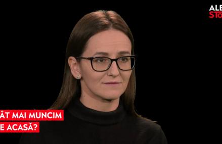 ALEPH STORY: Cât mai muncim de acasă? O discuţie cu Dana Ciriperu, redactor-şef adjunct ZF şi Ioana Răduca, head of content Aleph News
