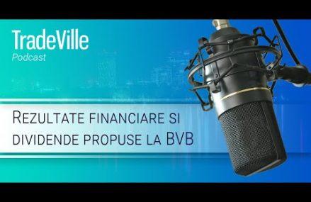 TradeVille Podcast – Rezultate financiare si dividende propuse la BVB (SNP, BRD, TRP, TGN, TEL)