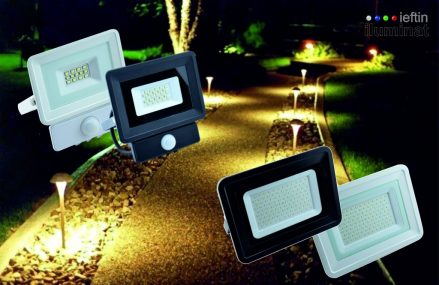 Gama de proiectoare LED de la iluminat-ieftin, o solutie ieftina si eficienta.