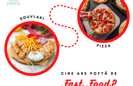 Cine are pofta de fast food?