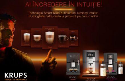 Ai incredere in intuitie! Alege Intuition Preference+, cel mai intuitiv espressor de la Krups