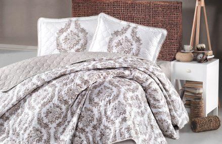 Cuvertura de pat eleganta pentru dormitoare ingrijite