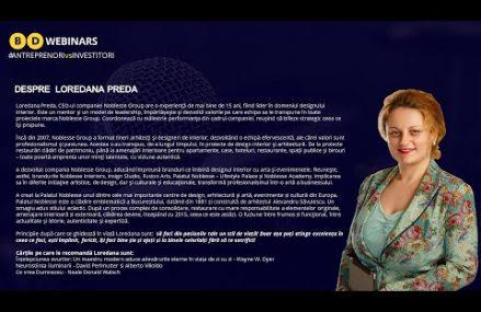 Cateva cuvinte despre Loredana Preda