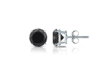 Cauti niste cercei cu diamante negre pe care sa ii oferi cadou?