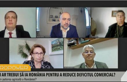 ZF Agropower. Este important să vindem mai întâi produsele româneşti pe rafturile din România, pentru a reduce deficitul comercial, iar apoi să ne gândim la export