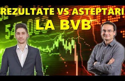 Rezultate vs Asteptari la BVB