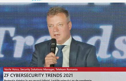 """Protecţia datelor în era muncii hibrid. Lecţiile primului an de pandemie. Vasile Voicu, security solutions manager la Telekom: În faţa unui atac cibernetic resursa umană este cea mai importantă. În 2020, jumătate din atacuri au avut """"succes"""" pentru că angajaţii nu erau pregătiţi şi nu au ştiut cum să se apere"""