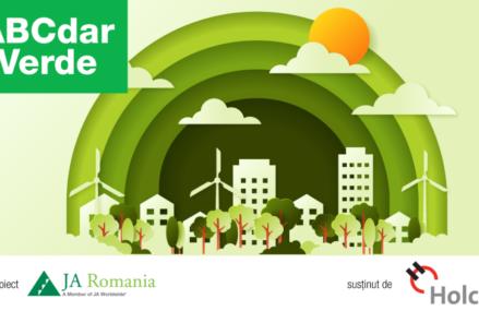 Junior Achievement și Holcim au finalizat prima ediție a proiectului ABCdar Verde. Peste 500 de elevi din Argeș, Bihor și Cluj au învățat despre cum pot proteja mediul înconjurător