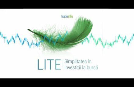 TradeVille lansează Lite, interfața simplificată a aplicației mobile de investiții bursiere