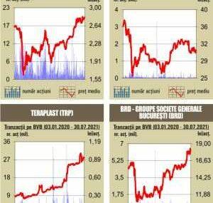 BVB Sesiune mixta pentru indici, pe fondul unui rulaj redus