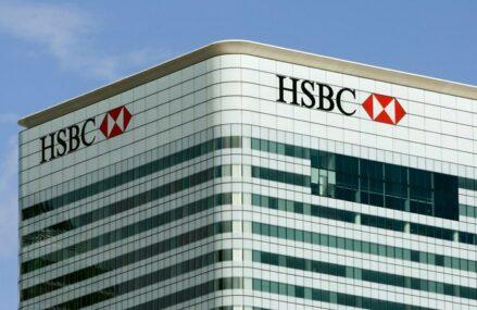 HSBC, cea mai mare bancă europeană, în creştere cu peste 100% faţă de anul trecut. Profitul înainte de taxe din S1 depăşeşte 9 miliarde de euro