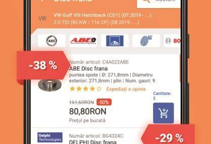 Aplicaţia zilei: AUTODOC – Piese auto la preţuri mici online