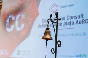 ASTAZI Connections Consult a debutat  pe piata AeRO a Bursei de Valori Bucuresti
