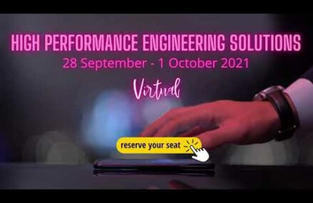 High Performance Engineering Solutions 2021 – topicuri abordate