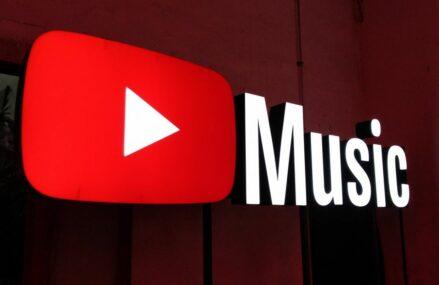 YouTube Music vine tare din urmă