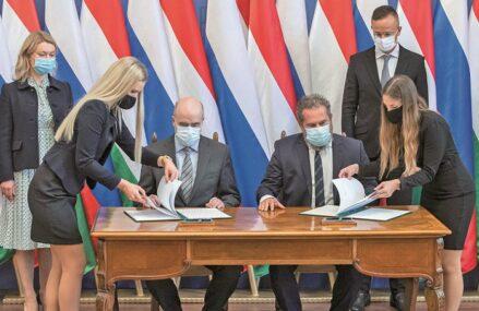 Cu o reţea de legături diplomatice, unele periculoase, extinsă şi cu o diversificare reală a surselor de energie, Ungaria are rezervoarele de gaze aproape pline pentru la iarnă