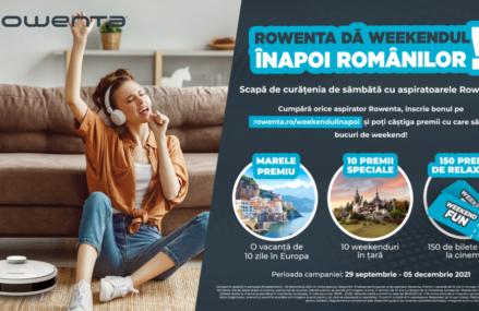Rowenta dă weekendul înapoi românilor!